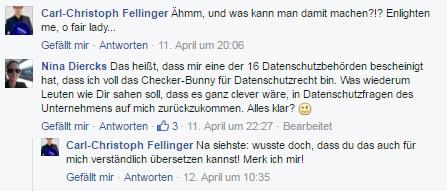 FB Kommentar zur SV-Anerkennung