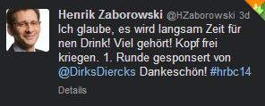 Tweet von @HZaborowski